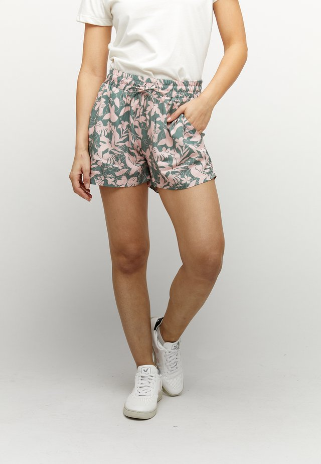 PALM COVE - Shorts - forest/printed