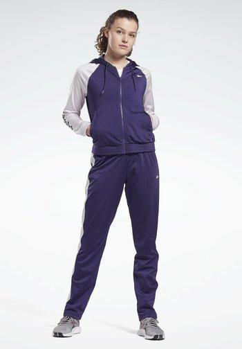 LINEAR LOGO ELEMENTS TRACKSUIT - Træningssæt - purple