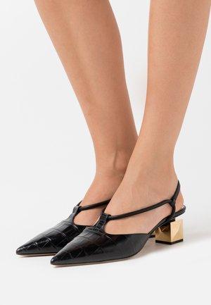 ST.COCCO - Classic heels - nero/oro