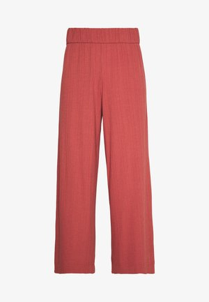 CILLA TROUSERS - Tracksuit bottoms - rust