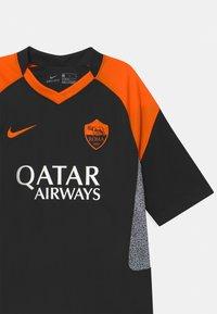 Nike Performance - AS ROM UNISEX - Club wear - black/safety orange - 2