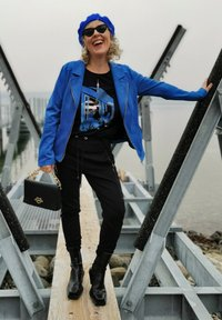 Gerry Weber - Faux leather jacket - aurora blue - 2