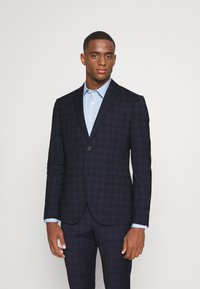Isaac Dewhirst - CHECK - Completo - dark blue - 2