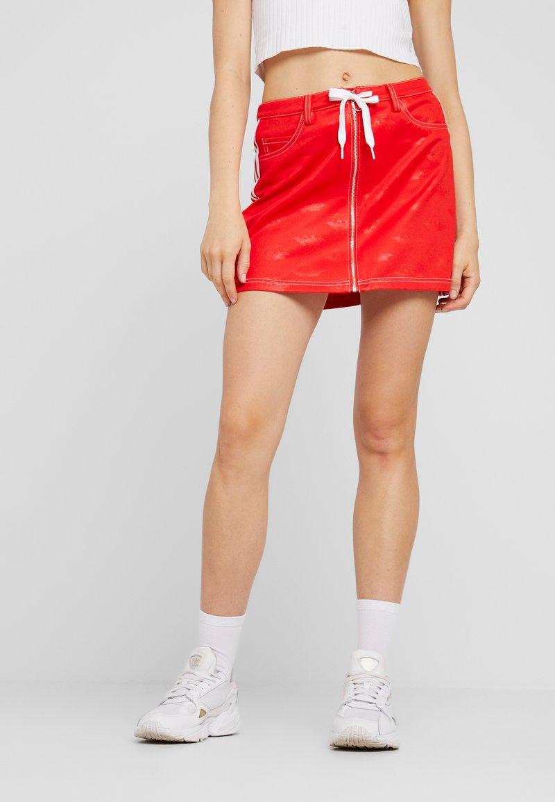 adidas Originals - Minifalda - red