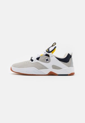KALIS - Sneakersy niskie - white/grey/yellow