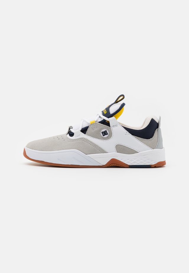 KALIS - Sneakers - white/grey/yellow