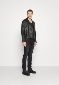 INDICODE JEANS - PITTSBURG - Jeansy Slim Fit - ultra black - 1
