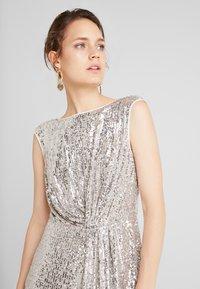 NAF NAF - LASHIN - Cocktail dress / Party dress - silver - 4