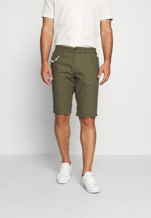 Shorts - olive night green