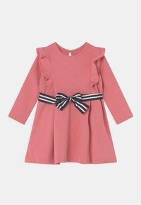 Polo Ralph Lauren - RUFFLE DAY DRESS SET - Jersey dress - desert rose - 0