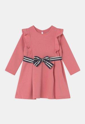 RUFFLE DAY DRESS SET - Jersey dress - desert rose