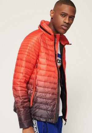 POWER FADE - Outdoor jacket - carbon/hazard orange