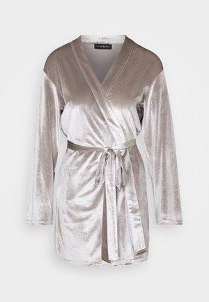 KATRINA SHORT KIMONO - Dressing gown - grey