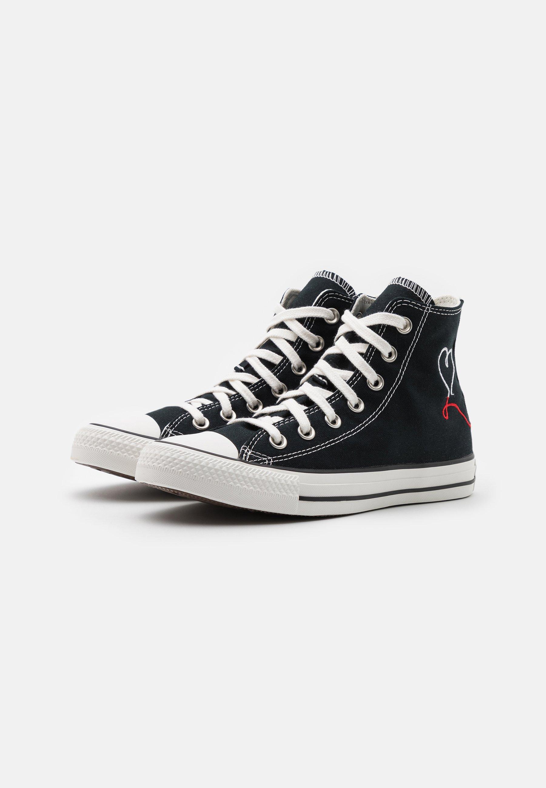 CHUCK TAYLOR ALL STAR UNISEX - Sneakers alte - black/vintage white/egret