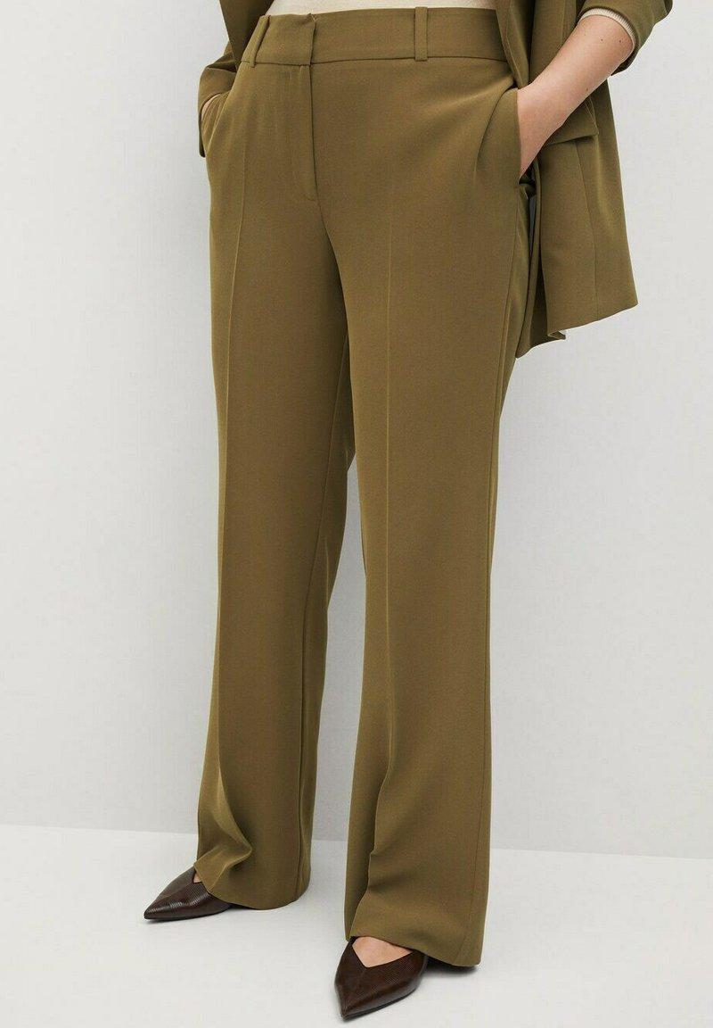 Violeta by Mango - AWESOME - Trousers - grün