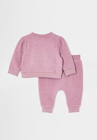 River Island - Tracksuit bottoms - pink - 1