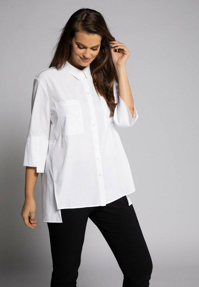Button-down blouse - blanc neige