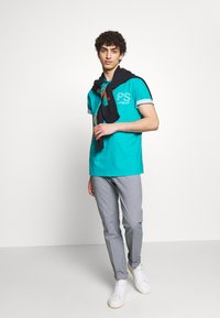 PS Paul Smith - T-Shirt print - neon blue - 1