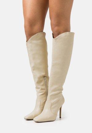 SHEA - Vysoká obuv - cream