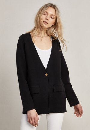 CHARLIE - Cardigan - dark evening black