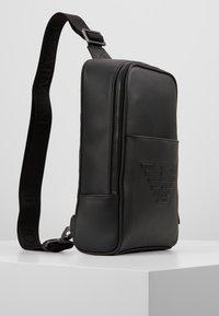 Emporio Armani - BODYPACK - Across body bag - black - 3