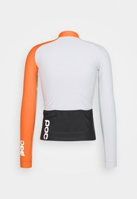 POC - ESSENTIAL ROAD  - Long sleeved top - granite grey/zink orange - 6