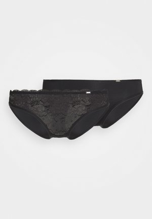 ANGIE 2 PACK - Briefs - black