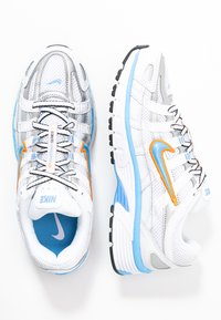 Nike Sportswear - P-6000 - Trainers - white/university blue/metallic silver - 5