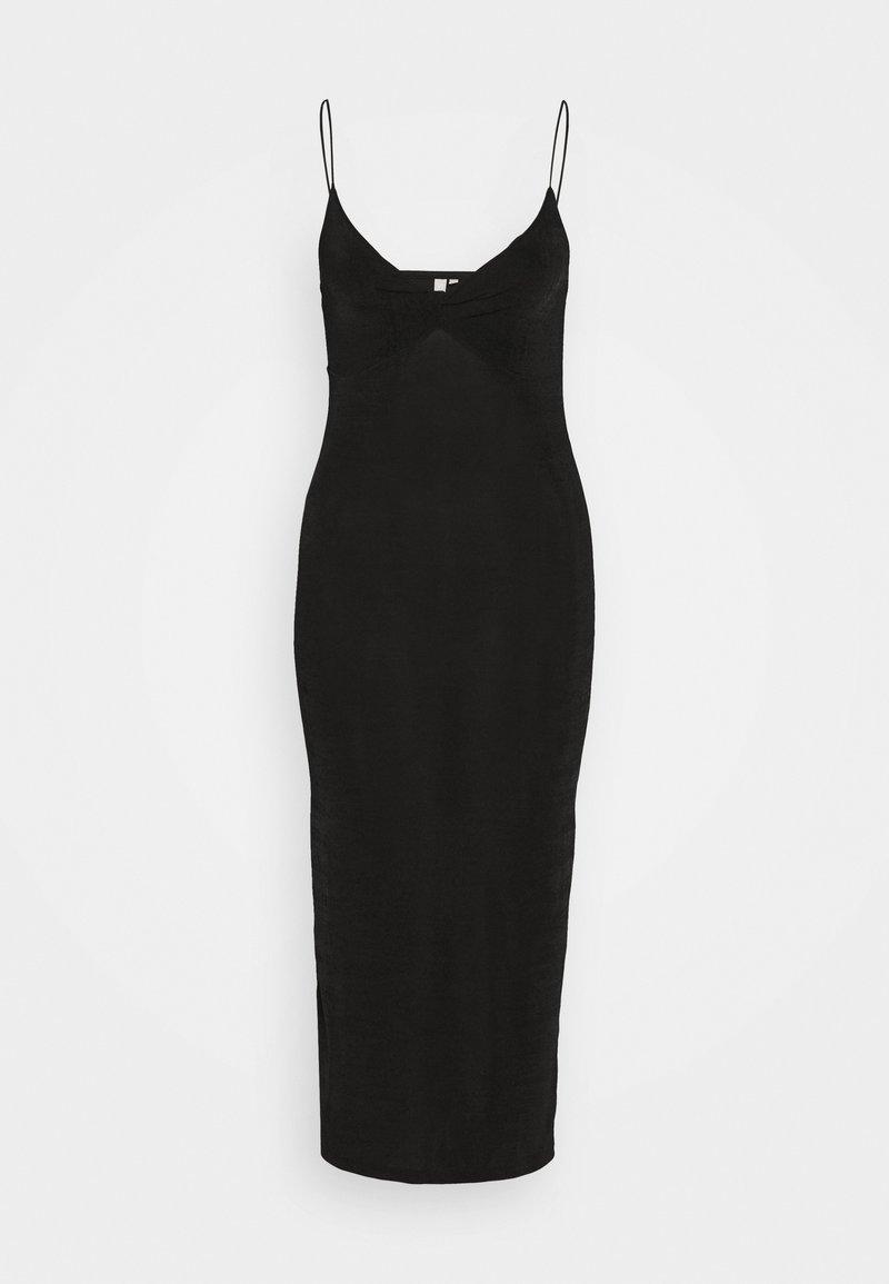 Pieces - PCALBA STRAP DRESS - Jersey dress - black