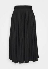 Esprit - PLISEE SKIRT - Jupe plissée - black - 0