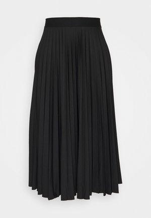 PLISEE SKIRT - Pleated skirt - black