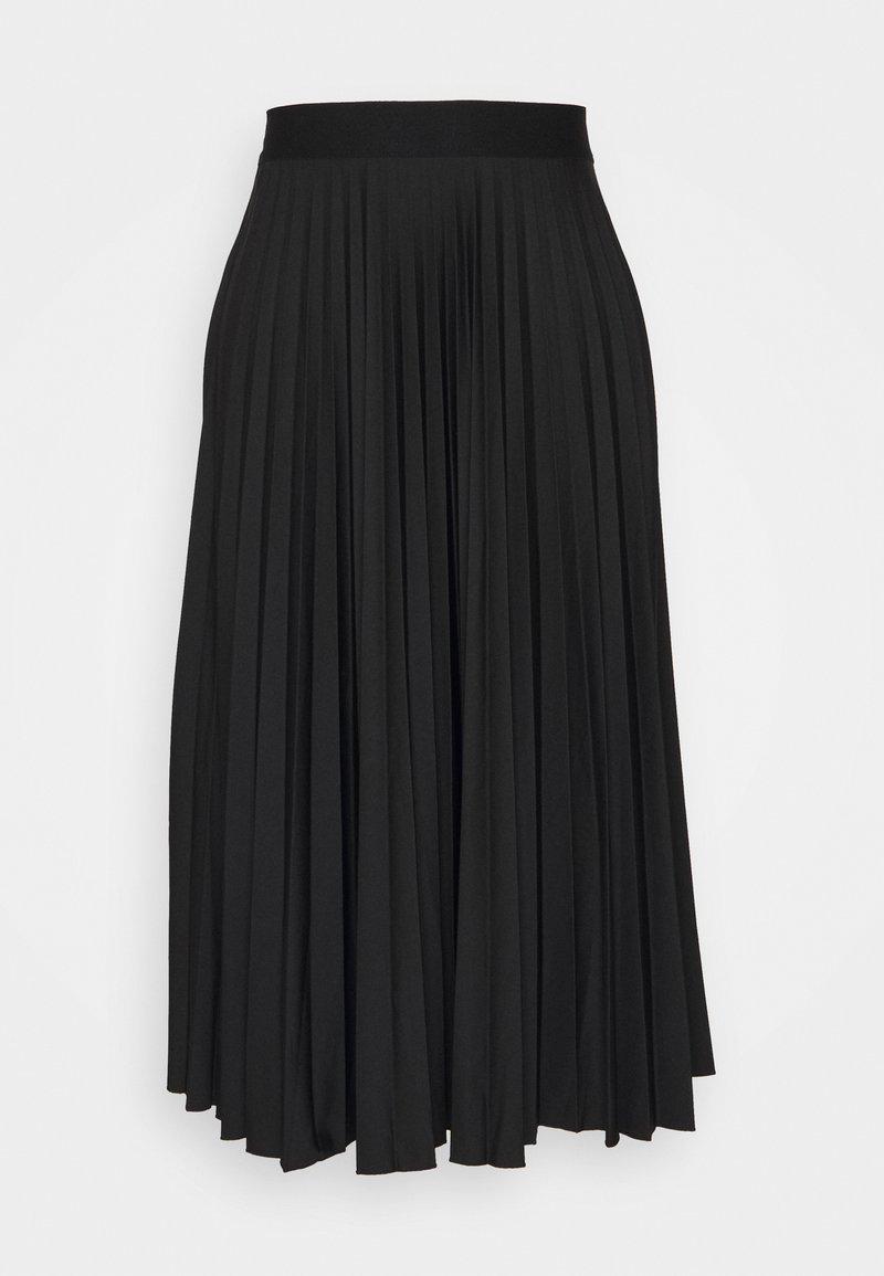 Esprit - PLISEE SKIRT - Jupe plissée - black
