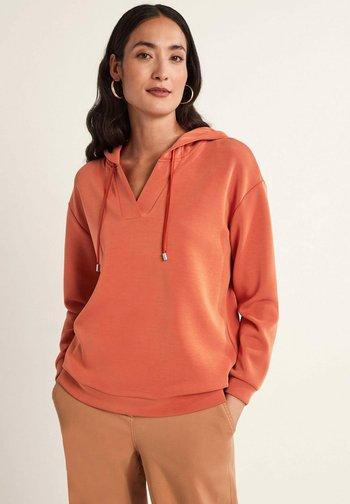 Hoodie - dark orange