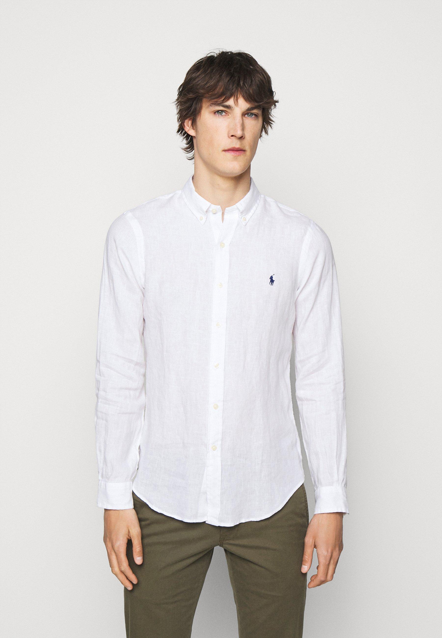 Men SLIM FIT LINEN SHIRT - Shirt