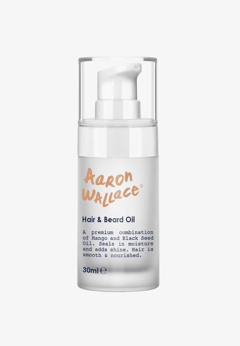 Aaron Wallace - HIGH PERFORMANCE HAIR & BEARD OIL - Beard oil - aw clear/white