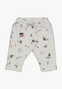 Noppies - PANTS REGULAR COVENDALE BABY - Stoffhose - whisper white melange - 0