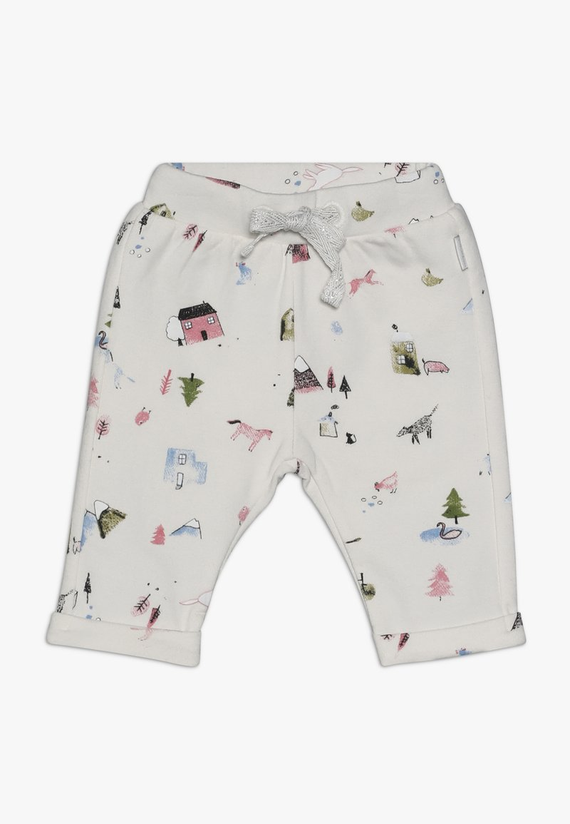 Noppies - PANTS REGULAR COVENDALE BABY - Stoffhose - whisper white melange
