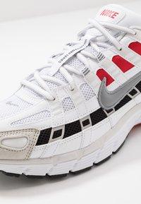 Nike Sportswear - P-6000 - Sneakers - white/particle grey/university red/neutral grey/black - 8