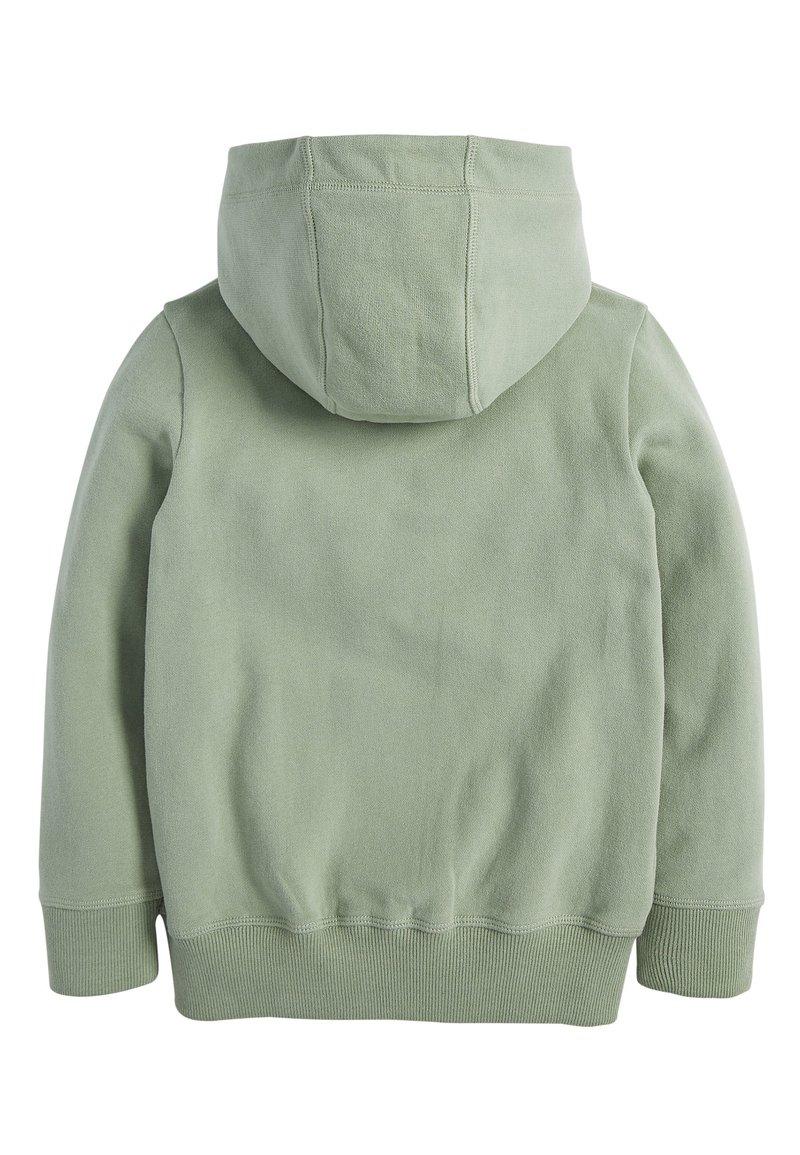 Next - FLURO - Zip-up hoodie - green