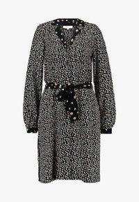 Vero Moda - VMVIVI KNEE DRESS - Day dress - black - 5