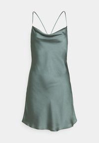 Abercrombie & Fitch - CHASE SLIP MINI DRESS - Cocktail dress / Party dress - green - 0