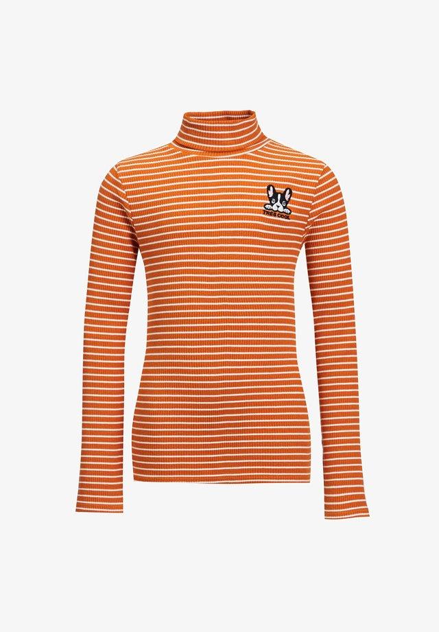 Pitkähihainen paita - orange
