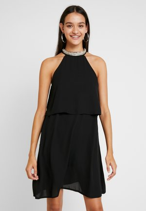 ONLGLORIA SHORT DRESS - Vestido de cóctel - black