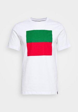 PORTUGAL FPF TEE VOICE - Pelipaita - white