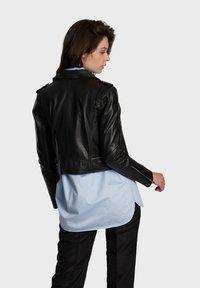 Oakwood - YOKO - Leren jas - black - 2