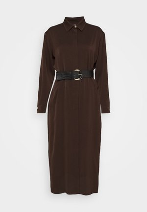 OBBIA - Shirt dress - marrone