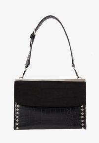Topshop - RETRO STUDDED SHOULDER - Handbag - black - 5