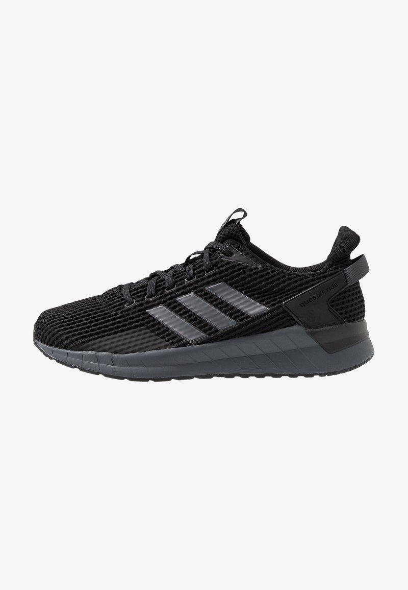 adidas Performance - QUESTAR RIDE - Laufschuh Neutral - core black/night metallic/grey six