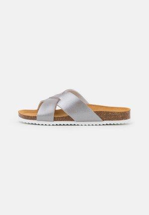 SOHO - Pantofle - gunmetal