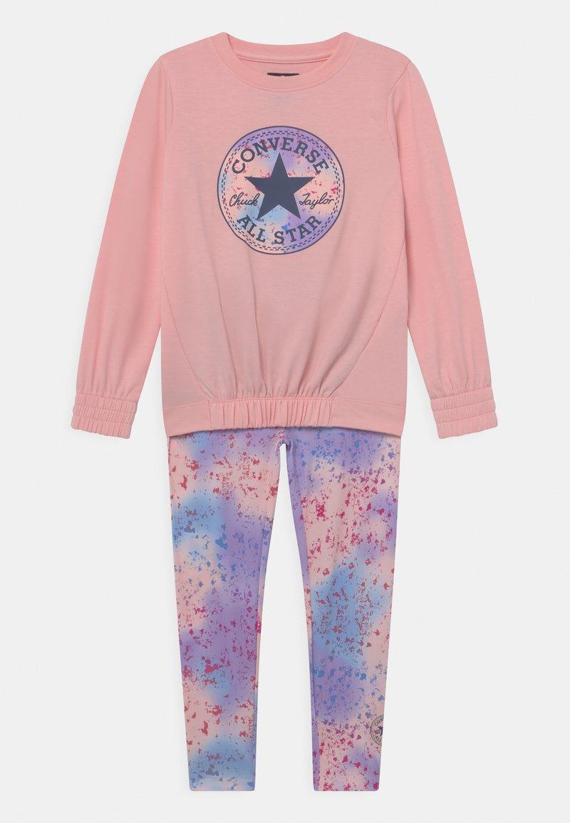 Converse - PRINT FILL CHUCK PATCH SET - Sweatshirt - storm pink